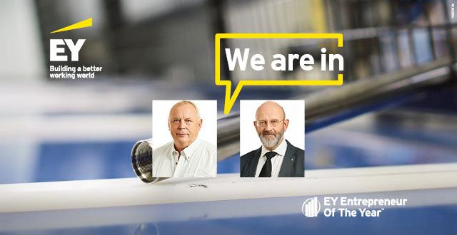 "We are proud to be nominated to ""EY entrepreneur of the year 2018"""