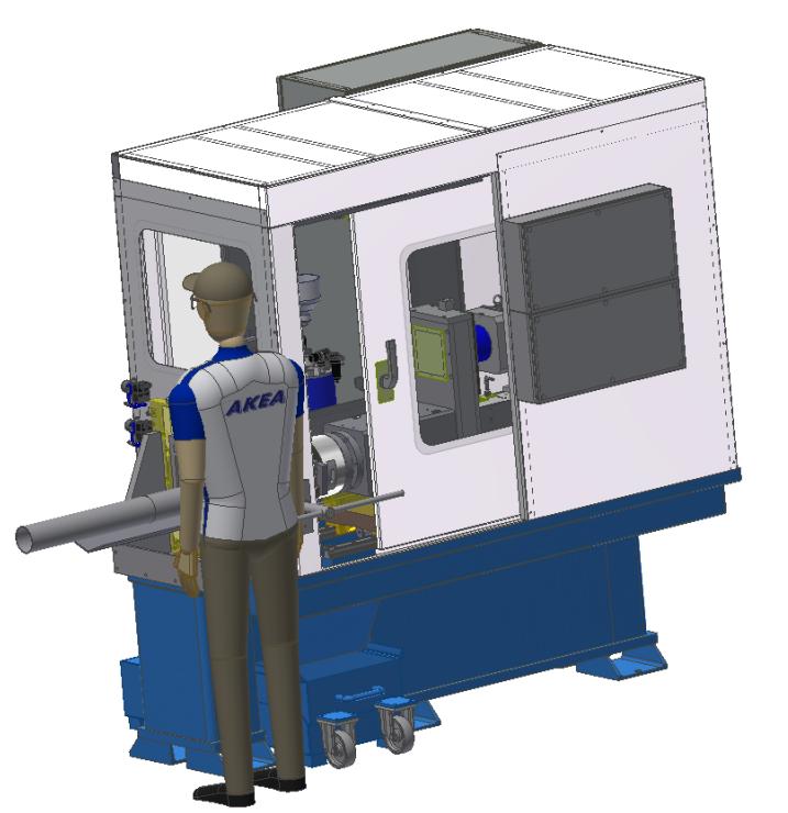 GEW CNC: Semi-automatic Turning, Chamfer and Tread cutting machines
