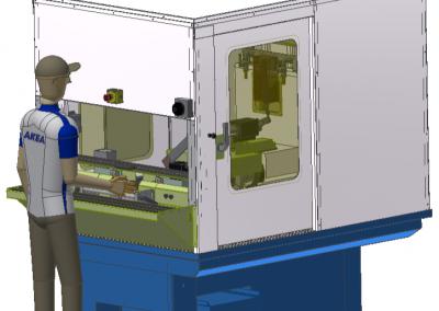 GEW series:  202 Spring Brackets / U-bolts Semi-automatic Chamfering, Peeling and Thread rolling