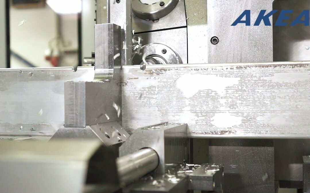 Machining of aluminium parts to Canada (66200)